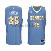 Denver Nuggets Basketball Trøjer 2015-16 Kenneth Faried 35# Road..