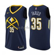 Denver Nuggets Basketball Trøjer 2018 Kenneth Faried 35# City Edition..