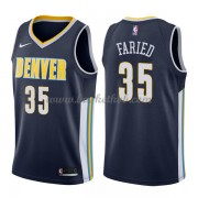Denver Nuggets Basketball Trøjer 2018 Kenneth Faried 35# Icon Edition..