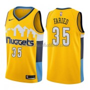 Denver Nuggets Basketball Trøjer 2018 Kenneth Faried 35# Statement Edition..
