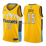 Denver Nuggets Basketball Trøjer 2018 Nikola Jokic 15# Statement Edition..