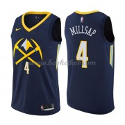 Denver Nuggets Basketball Trøjer 2018 Paul Millsap 4# City Edition..