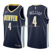 Denver Nuggets Basketball Trøjer 2018 Paul Millsap 4# Icon Edition..