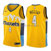 Denver Nuggets Basketball Trøjer 2018 Paul Millsap 4# Statement Edition..