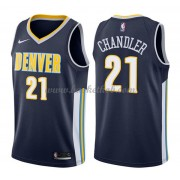 Denver Nuggets Basketball Trøjer 2018 Wilson Chandler 21# Icon Edition..