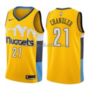 Denver Nuggets Basketball Trøjer 2018 Wilson Chandler 21# Statement Edition..