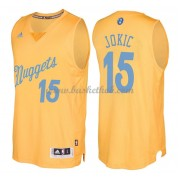 Denver Nuggets 2016 Nikola Jokic 15# Jul NBA Basketball Trøjer..