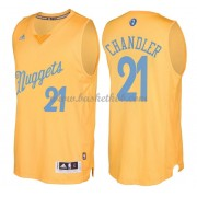 Denver Nuggets 2016 Wilson Chandler 21# Jul NBA Basketball Trøjer..