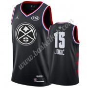 Denver Nuggets 2019 Nikola Jokic 15# Sort All Star Game Swingman Basketball Trøjer..