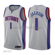 NBA Basketball Trøje Børn Detroit Pistons 2018 Reggie Jackson 1# Statement Edition..