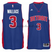 Detroit Pistons Basketball Trøjer 2015-16 Ben Wallace 3# Road..