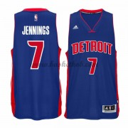 Detroit Pistons Basketball Trøjer 2015-16 Brandon Jennings 7# Road..