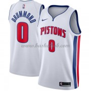 Detroit Pistons Basketball Trøjer 2018 Andre Drummond 0# Association Edition..