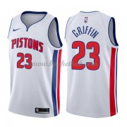 Detroit Pistons Basketball Trøjer 2018 Blake Griffin 23# Association Edition..