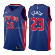 Detroit Pistons Basketball Trøjer 2018 Blake Griffin 23# Icon Edition..