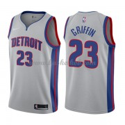 Detroit Pistons Basketball Trøjer 2018 Blake Griffin 23# Statement Edition..