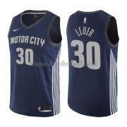 Detroit Pistons Basketball Trøjer 2018 Jon Leuer 30# City Edition..