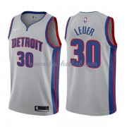 Detroit Pistons Basketball Trøjer 2018 Jon Leuer 30# Statement Edition..