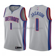 Detroit Pistons Basketball Trøjer 2018 Reggie Jackson 1# Statement Edition..