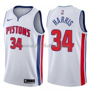 Detroit Pistons Basketball Trøjer 2018 Tobias Harris 34# Association Edition..