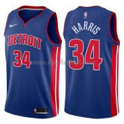 Detroit Pistons Basketball Trøjer 2018 Tobias Harris 34# Icon Edition..