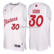 Detroit Pistons 2016 Jon Leuer 30# Jul NBA Basketball Trøjer..