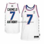East All Star Game 2015 Carmelo Anthony 7# NBA Swingman Basketball Trøjer..