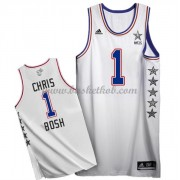 East All Star Game 2015 Chris Bosh 1# NBA Swingman Basketball Trøjer..