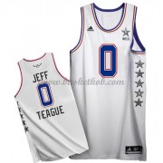 East All Star Game 2015 Jeff Teague 0# NBA Swingman Basketball Trøjer