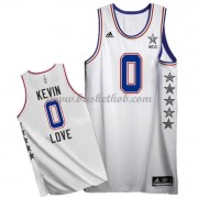 East All Star Game 2015 Kevin Love 0# NBA Swingman Basketball Trøjer..