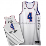 East All Star Game 2015 Paul Millsap 4# NBA Swingman Basketball Trøjer..