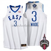 East All Star Game 2016 Dwyane Wade 3# NBA Swingman Basketball Trøjer..