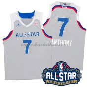 East All Star Game 2017 Carmelo Anthony 7# NBA Swingman Basketball Trøjer..