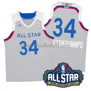 East All Star Game 2017 Giannis Antetokounmpo 34# NBA Swingman Basketball Trøjer..