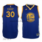 Golden State Warriors Børn NBA Trøjer 2015-16  Stephen Curry 30# Road Swingman