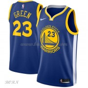 NBA Basketball Trøje Børn Golden State Warriors 2018 Draymond Green 23# Icon Edition..