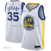 NBA Basketball Trøje Børn Golden State Warriors 2018 Kevin Durant 35# Association Edition..