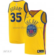 NBA Basketball Trøje Børn Golden State Warriors 2018 Kevin Durant 35# City Edition..
