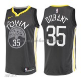 NBA Basketball Trøje Børn Golden State Warriors 2018 Kevin Durant 35# Statement Edition