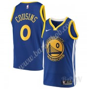Billige Basketball Trøje Børn Golden State Warriors 2019-20 DeMarcus Cousins 15# Blå Icon Edition Sw..