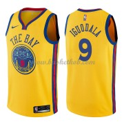 Golden State Warriors Basketball Trøjer 2018 Andre Iguodala 9# City Edition..