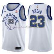 Golden State Warriors Basketball Trøjer 2018 Draymond Green 23# Hvid Hardwood Classics..