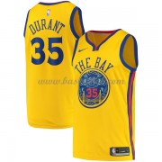 Golden State Warriors Basketball Trøjer 2018 Kevin Durant 35# City Edition..