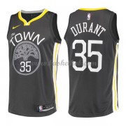 Golden State Warriors Basketball Trøjer 2018 Kevin Durant 35# Statement Edition..