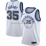 Golden State Warriors Basketball Trøjer 2018 Kevin Durant 35# Hvid Hardwood Classics..