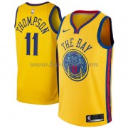 Golden State Warriors Basketball Trøjer 2018 Klay Thompson 11# City Edition..