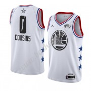 Golden State Warriors 2019 Demarcus Cousins 0# Hvid All Star Game Swingman Basketball Trøjer..