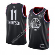 Golden State Warriors 2019 Klay Thompson 11# Sort All Star Game Swingman Basketball Trøjer..