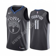 Golden State Warriors Basketball Trøjer NBA 2019-20 Klay Thompson 11# Sort City Edition Swingman..