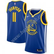 Golden State Warriors Basketball Trøjer NBA 2019-20 Klay Thompson 11# Blå Icon Edition Swingman..